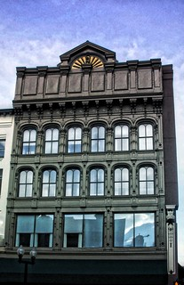 Albany New York ~ Albany Business College ~ Historic  Cast Iron Building
