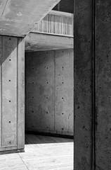Salk Institute Triangulation II (autobahn66.com) Tags: california sky texture architecture concrete sandiego geometry lajolla science minimal architectural research salkinstitute minimalist modernarchitecture sixties brutalism modernist louiskahn midcenturymodern photograpy brutalistarchitecture btonbrut