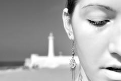 Faro - Rabat (lollocappucci) Tags: portrait people blackandwhite bw lighthouse faro monocromo nikon earring bn persone morocco marocco ritratto biancoenero d90 orecchino nikond90 lorenzocappucci