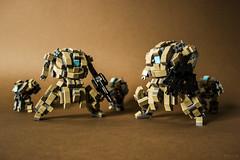 "Terrain troopers - DKT7 ""Marines"" (Devid VII) Tags: terrain trooper detail mobile war lego military details mini troopers suit walker crew marines wars vii mecha mech moc drone 2015 devid foitsop devidvii dkt7"