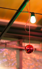 The Lit and the Pendulum (Jay:Dee) Tags: christmas red toronto lights photo walks walk seasonal ornament bauble ligths 2016 topw topwsl2015