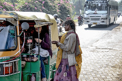 INDIA7408/ (Glenn Losack, M.D.) Tags: street people india portraits children photography delhi muslim islam poor photojournalism buddhism impoverished flip flops local hindu jaipur begging scenics handicapped deformed beggars glennlosack losack glosack dahlits