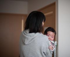 Visiting Great Grandma (Nazra Zahri) Tags: family portrait baby japan 50mm nikon raw sisterinlaw mother nephew inlaws okayama 2015 50mmf14d d700
