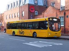 trent barton 780 Ilkeston (Guy Arab UF) Tags: urban bus buses eclipse volvo place market derbyshire trent barton wright ilkeston 780 wellglade wellgladegroup b8rle bd65ewm