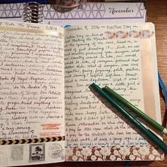 Visual Journal (Kathryn Zbrzezny) Tags: visualjournal visualdiary journal journaling journalwriting write writer handwritten handwriting washitape leuchtturm1917