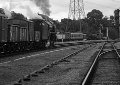 GCR 50141crbw (kgvuk) Tags: gcr greatcentralrailway trains railways locomotive steamlocomotive 9f 2100 92212 92178 swithlandsidings