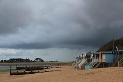 Norfolk (redshoesd) Tags: norfolk coastal coast seaside beach sky clouds beachhuts wellsnextthesea view