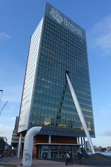 KPN building @ Wilhelminapier @ Kop van Zuid @ Rotterdam (*_*) Tags: rotterdam netherlands nederland europe city october 2016 autumn fall automne kopvanzuid island wilhelminapier