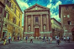 Chiesa di San Cristoforo (stanislaff) Tags: italy city cityscape ancient hdr chiesa di san cristoforo samsung samsungnx1224mmf456 samsungnx30 nx30 nx1224 siena toscana
