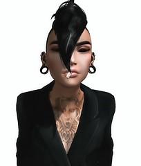 (dtoki_sl) Tags: lesbian secondlife lgbt lgbtq butch gay pride model smoker tattoos fashion swag tux edgy tomboy