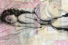 Pen and ink drawing. Im not 100% sure but I may include... (Dorian Vallejo) Tags: art fine drawing figure mixed media drawings oil painting dorian vallejo