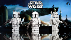 Boba Fett: Prototype Armor (McLovin1309) Tags: custom lego minifigure star wars boba fett prototype armor armour leonardo sculpt