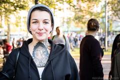 Sweet (Nora Kaszuba) Tags: pronk providencepronk tattoo woman streetfestival streetportrait providencerhodeisland fujixt2 portrait fujifilm35mmf2