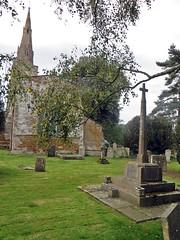 Preston Rutland (jmc4 - Church Explorer) Tags: preston church rutland graveyard cross