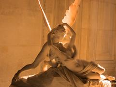 Paris - The Louvre - Psyche Revived by Cupid's Kiss (bronxbob) Tags: paris thelouvre museums art sculpture mythology cupid psyche antoniocanova