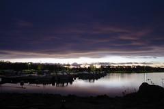 Dusk (STTH64) Tags: dusk sea seaside clouds sky water cloud coast vaasa finland outdoor