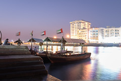 Sitting by the pier (rabbiv) Tags: waterfront pier evening boats longexposure water reflections d750 nikon 20mmf18g