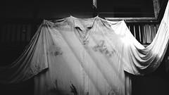 EL GRECO (Ambe) Tags: elgreco toledo museo museum greco bw blancoynegro bn spain espaa camisa manchada paint