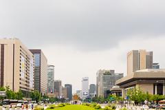 Seoul: Gwanghwamun (stuckinseoul) Tags: photo asian  seoul korean sigma2470mmf28exdghsm gwanghwamunplaza southkorea city canoneos6d korea capital photograph  asia  gwanghwamun    kr
