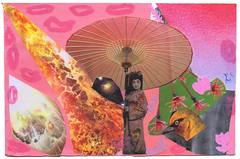 From Ruth Mary Shackelford (tofuart) Tags: pink pinkweek mailart postcard postal art collage mixedmedia