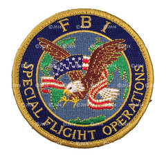 FBI Special Flight Operations Patch (GMAN) (Nate_892) Tags: fbi federal bureau investigation police agent patch flight operations gman velcro rare fligiht error