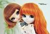 Leilani & Tess - Pullip Cassie & Pullip Nella (·Yuffie Kisaragi·) Tags: doll dolls pullip pullips cassie leilani nella tess obitsu obitsus rewigged rechipped
