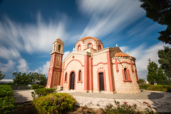St George Church (billydorichards) Tags: ancient autumn meditteranean building nopeople church vacation canon6d holiday clouds longexposure cyprus wintersun travel scenic history outdoors touristdestination architecture islandlife sky landscape chloraka paphos cy
