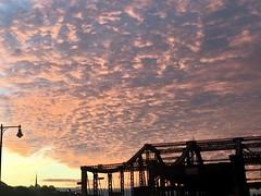 Boston - Sunrise Canvas. (Polterguy30) Tags: clouds cloud bridges bridge silhouettes silhouette sunrise massachusetts boston