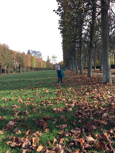 Au parc du palais impérial de Compiègne