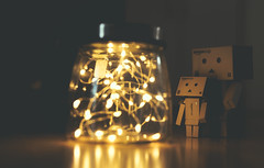 glowworms (David Go ~) Tags: danboard danbo toy spielzeug board glhwrmer glhwurm glowworms glow light makro macro stories geschichte lowlight davego davidgo canoneos6d sigmaartlense sigmaart50mm mini figures figure small object
