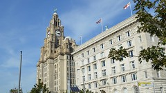 Royal Liver Building, Liverpool (wattallan594) Tags: united kingdom england liverpool royal liver building cunard 3 graces pier head