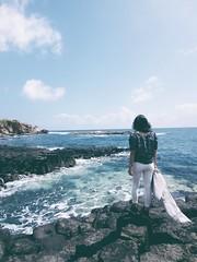 Gành Đá Dĩa, Phú Yên. (themilkyway_hm) Tags: sea rock ganhdadia phuyen vietnam trip volcanic cliff basalt giantscauseway