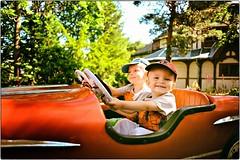 The Fast and The Furious (Steve Lundqvist) Tags: sweden svezia sverige stockholm stoccolma skansen park boys kids portrait nikon nikkor 24mm car toddlers young people parco amusement