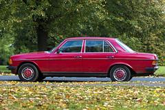 Red Merc (pixelhut) Tags: bristol uk england southwest city urban cars car automotive mercedes merc red ladiesmile