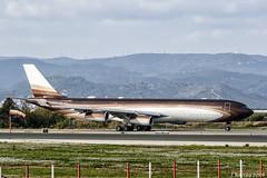 Klaret Aviation - Airbus A340 313 - M-IABU (j.borras) Tags: airplane spotting barcelona bcn lebl takeoff departing rwy25l airbus a340 300 klaret aviation miabu