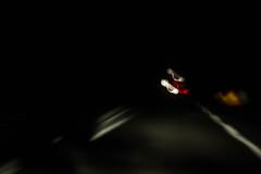 IMG_5571 (dcdnc) Tags: night long road autobahn shades turn light monochrome portrait speed car