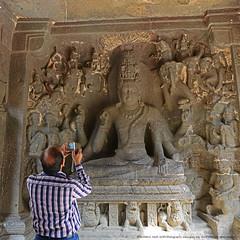 BEYOND MEGAPIXELS !! (GOPAN G. NAIR [ GOPS Creativ ]) Tags: gopsorg gopsphotography gopangnair gopan photography ellora cave temple india history