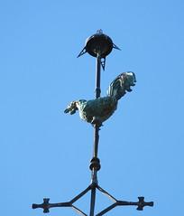 A nouveau chez Virginie et Yann (Chti-breton) Tags: clocher coqdeclocher cuivre