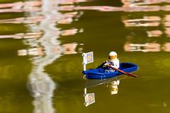 The rowing astronaut (Ballou34) Tags: 2016 650d afol ballou34 canon eos eos650d flickr lego legographer legography minifigures photography rebelt4i stuckinplastic t4i toy toyphotography toys rebel stuck plastic hamburg sipgoeshamburg2016 space spaceman astronaut row rowing boat river fountain water