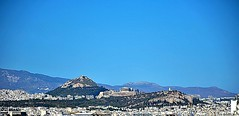 The Blue Sky of Athens (Tungmay aka ) Tags: athens greece sky blue cityscape wow