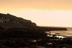 Sunset Pier. (AJ_YEAH) Tags: canon 100d sunset beach outdoor 55250 efs stm