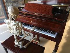 Westworld Player Piano, 30 years on (jurvetson) Tags: steinway sons player piano spirio spiro westworld skeleton hands robot automaton