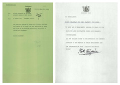 Correspondence related to death of Louis Mountbatten (1979) (Archives New Zealand) Tags: ireland newzealand nz archives british ira 1979 irishhistory britishhistory newzealandhistory archivesnewzealand nzhistory