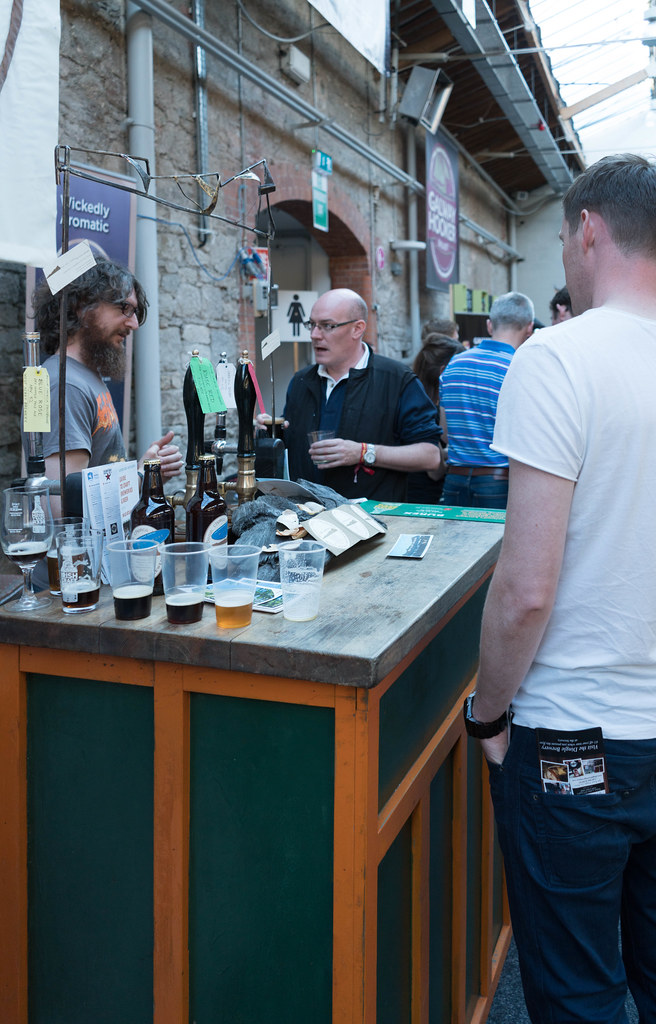 IRISH CRAFT BEER FESTIVAL IN THE RDS LAST WEEKEND IN AUGUST 2015 [SONY A7R MkII] REF-107286