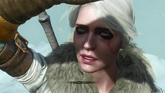 witcher3 2015-07-11 09-53-56-91 (Beth Amphetamines) Tags: wallpaper outdoors snowstorm greeneyes ciri witcher3