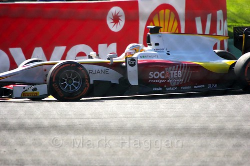 Arthur Pic in the GP2 Sprint Race at the 2015 Belgium Grand Prix