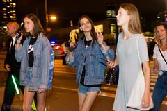 givenchy show (eventphotosnyc) Tags: peace models banana nike moms denim shorts jeanjacket givenchy streetstyle jeansshorts nyfw