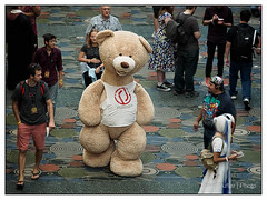 Salt Lake Comic Con 2015 Day 1 (Puffer Photography) Tags: bear utah cosplay saltlakecity comiccon 2015