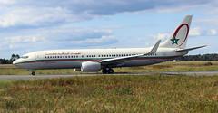 Royal Air Maroc Boeing 737-8B6(WL) (CN-ROC) (Philippe Durieux) Tags: bordeaux bod aéroport bordeauxairport lfbd aéroportdebordeaux