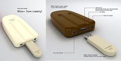 ไอเดียดีไซน์เก๋ แท่งไอติมกับ USB flash Drive